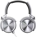 Sony MDR-XB910A On Ear Headphone Wired Headphones (Silver, Over The Ear)