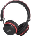 BoAt Rockerz 400 On-the-ear Wireless Bluetooth Headphones (Black And Red, On The Ear)
