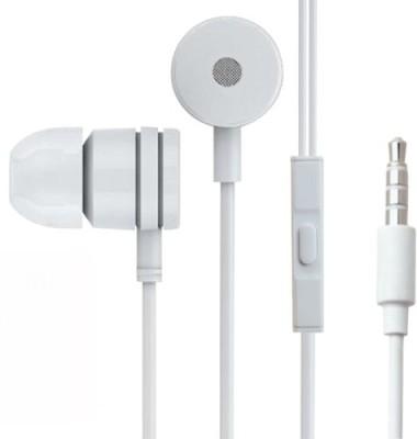 a9938f0ed9d Octiz RDMI2PRM Stereo Dynamic Headphone For Xiaomi Redmi 2 Prime Wired  Headphones (White, In ...