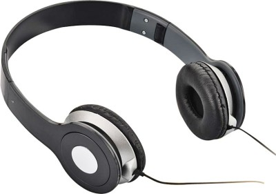 ShadowFax PowerPlus Foldable Headphones Black Stereo Dynamic Headphone Wired Headphones