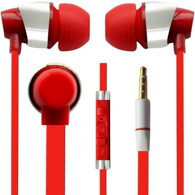 173f18ec267 ... Adiva WIRED EARPHONES FOR REDMI 2 Stereo Dynamic Headphone Wired  Headphones (WHITE, In the ...