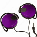 BeatessBeatz MDR 140 High Quality Stereo Dynamic Headphone Wired Headphones (Purple, Over The Ear)