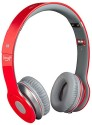Clawin Beatz Solo S450 High Quality(JE6) Stereo Dynamic Headphone Wireless Bluetooth Headphones (Red, Over The Ear)