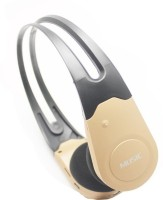 Verity New Rechargable With Micro SD Card Slot & FM Radio ( NO AUX Input ) Stereo Dynamic Headphone Wireless Headphones (Gold, Over The Ear)