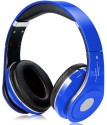 Bond Beatz Studio (STN 10) High Quality(NMJ) Stereo Dynamic Headphone Wireless Bluetooth Headphones (Blue, Over The Ear)