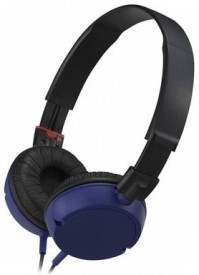 Dcoll High Quality MDR 100 Stereo Dynamic Headphone Wired Bluetooth Headphones (Black, Blue, Over The Ear)