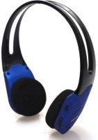 Verity New Rechargable With Micro SD Card Slot & FM Radio ( NO AUX Input ) Stereo Dynamic Headphone Wireless Headphones (Blue, Over The Ear)