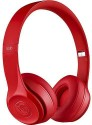 Soodobeatz SOLO 2 S460 High Quality Stereo Dynamic Headphone Wired & Wireless Bluetooth Headphones (Red, Over The Ear)