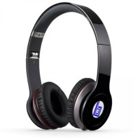 Swiss Beatz Premium Quality Solo S450(TR-BLUE-LOGO) With Incoming Calling Button Facility Plus High Bass Sound -(L-100) Stereo Dynamic Wireless Bluetooth Headphones (Black, Over The Ear)