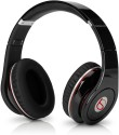 Soodobeatz Studio Stn10 With FM And Micro SD Slot Stereo Dynamic Wired & Wireless Bluetooth Headphones (Black, Over The Ear)