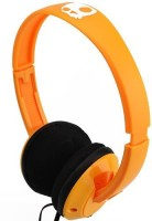 Skullcandy Sgurfz-085 Stereo Headphone Wired Headphones (orange/black, Over The Ear)