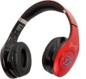 SoundLogic Dynabass Bluetooth & NFC Headphone Stereo Wireless Bluetooth Headphones (Red, On The Ear)