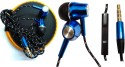 BS Enterprise BS Enterprise Powerful Base Earphone For Lenovo K3 Note Music Stereo Wired Headphones (Blue, In The Ear)