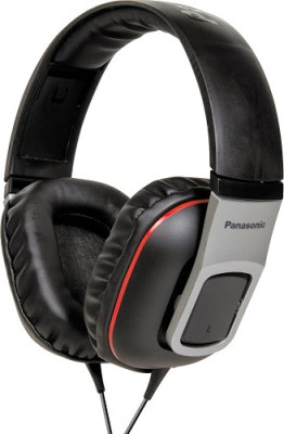 Panasonic RP HT460E K Over the ear Headphone Black, Over the Head available at Flipkart for Rs.1609