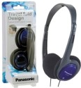 Panasonic RP-HT030E-A Wired Headphones - Blue, Over The Head