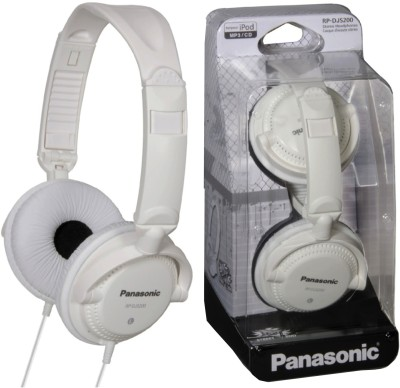 Panasonic RP DJS200E W White, Over the Head available at Flipkart for Rs.1274