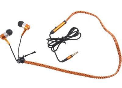 Hexadisk Hexazipgolden-001 Zipper Golden Headphone Wired Headphones
