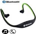 Elite Mkt Bluetooth Music Sport Wireless 1 Wireless Bluetooth Headset (Green)