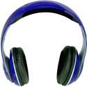 Hottech 3221 Bluetooth Headphone Wired & Wireless Bluetooth Headset (Blue)