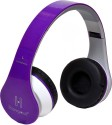 Hangout HO-003- Extra Bass On-the-ear Wired Headset(Purple) Wired Gaming Headset (Purple)