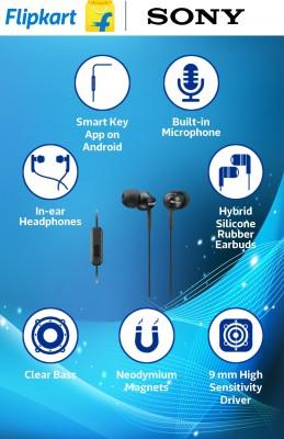 Sony MDR-EX110AP Stereo Headphones