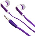 VJOY EP-11 WIRED Wired Headphones (Purple, In The Ear)