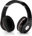 Head Max TM 003S High Quality Stereo Dynamic Wired & Wireless Bluetooth Headphones (Black, Over The Ear)
