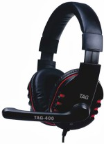 TAG Headphone with Mic USB 400