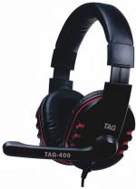 TAG Headphone with Mic USB 400