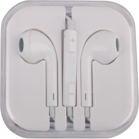 Mobiglam iphone compatible White Wired Headset