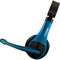 Zebronics Bolt Blue Wired Headset