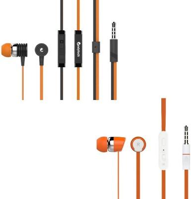 Candytech Stereo Dynamic Handsfree Gaming Wired Earphones Combo HF S 40 OG + HF S 20 OG