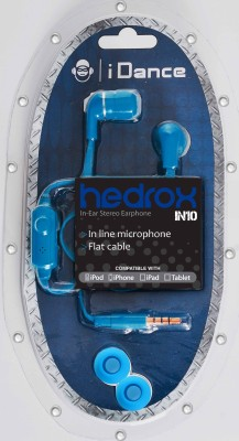 iDance Hedrox IN10 Wired Headset Dark Blue available at Flipkart for Rs.249