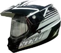 THH TX-13 Motorsports Helmet - L (Black, White)