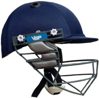VSP Test Cricket Helmet - L (Navy Blue, Grey, White)