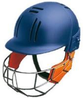 Loomex Abi001 Cricket Helmet - M (Navi Blue)