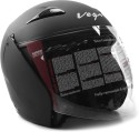 Vega Eclipse Motorsports Helmet - M (Dull Black)