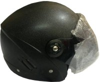 Liger New Variety Bazar Black Stylish Motorbike Helmet - M (Black)