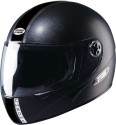 Studds Chrome Eco Motorsports Helmet - XL - Black Plain