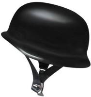 Liger New Variety Bazar Black German Hats Motorbike Helmet - M (Black)