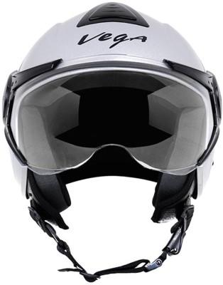 Vega Verve Motorsports Helmet - M - Silver