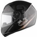 LS2 Poker Motorsports Helmet - L - Glossy Black