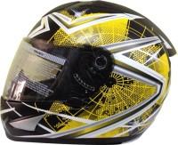 THH TS-41 Motorsports Helmet - L (Yellow, Black)