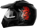 Vega Off Road Ranger Motorsports Helmet - M - Red, Black