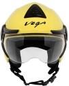 Vega Verve Motorsports Helmet - M - Yellow
