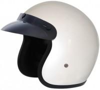 Vega Jet Motorbike Helmet - M (White)