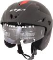 Vega Cruiser W/P Arrows Motorsports Helmet - M (Dull Black, Red)