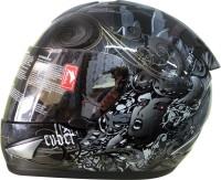 THH TS-41 Motorsports Helmet - L (Black, Grey)