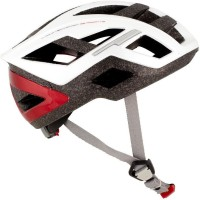 Btwin Sport 5 Cycling Helmet - L (White, Grey, Red)