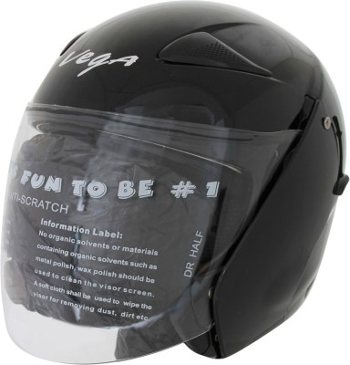 Vega Eclipse Motorsports Helmet - Medium - Gloss Black